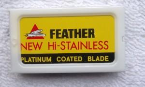 Feather New Hi-Stainless Double Edge Razor Blades